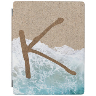 LETTERS IN THE SAND K iPad COVER