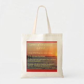 Letters of Forgiveness Tote
