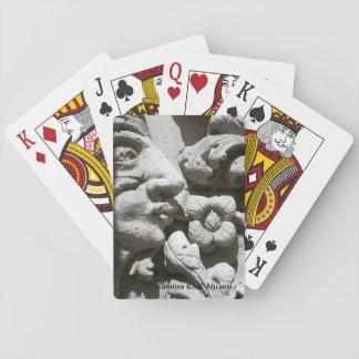 Letters of poker Alicante stone Poker Deck