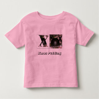 Letters - X - Xmas Pudding T-shirts