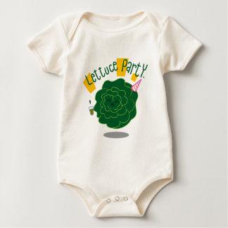 Lettuce Party Baby Bodysuit
