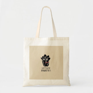 Lettuce Party Tote Bag - Beige