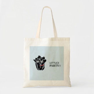 Lettuce Party Tote Bag - Blue