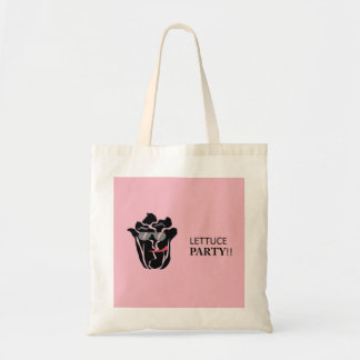 Lettuce Party Tote Bag - Pink