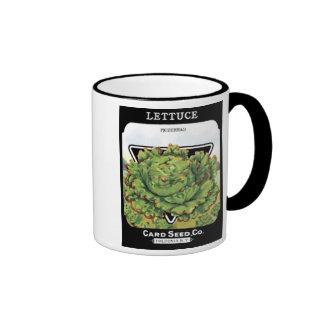 Lettuce Prizehead Card Seed Co Mugs