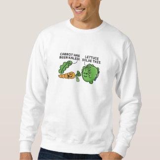 Lettuce Solve This Sweatshirt