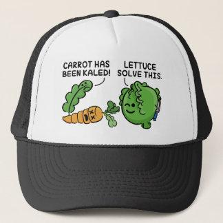 Lettuce Solve This Trucker Hat