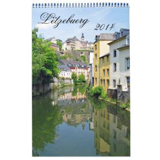Lëtzebuerg 2014 calendar