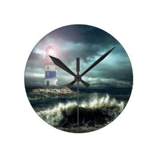 Leuchturm ef round clock