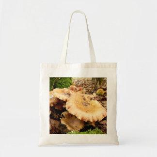 Leucopaxillus giganteus Mushroom Tote Bag