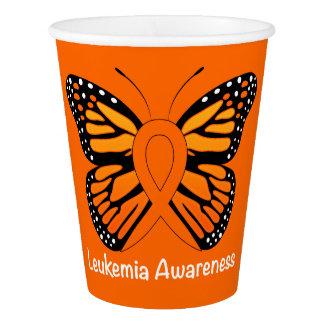 Leukaemia Butterfly Awareness Ribbon Paper Cup