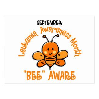 Leukemia Awareness Month Bee 1.2 Postcard