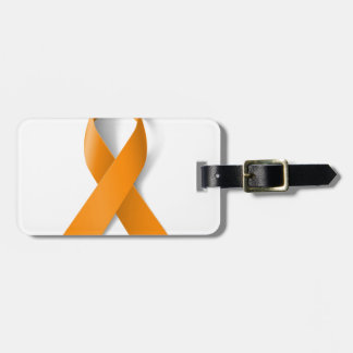 Leukemia Awareness Ribbon Bag Tag