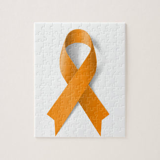Leukemia Awareness Ribbon Jigsaw Puzzle