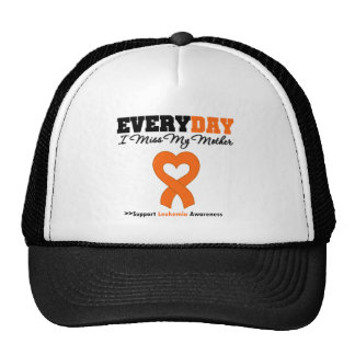 Leukemia Every Day I Miss My Mother Trucker Hats