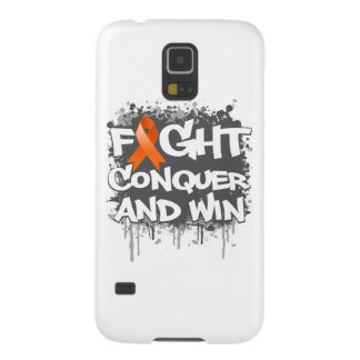 Leukemia Fight Conquer and Win Galaxy S5 Covers