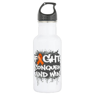 Leukemia Fight Conquer and Win 532 Ml Water Bottle