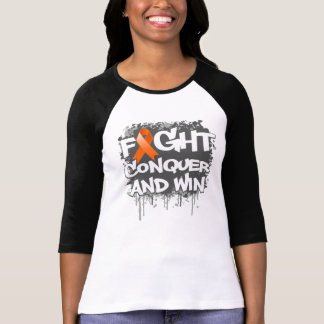 Leukemia Fight Conquer and Win Shirt
