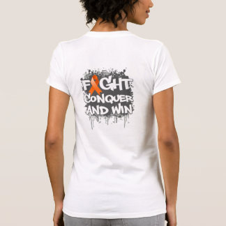 Leukemia Fight Conquer and Win Shirts