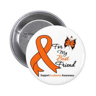 Leukemia -  For My Best Friend 6 Cm Round Badge