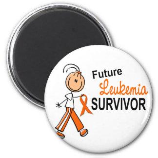 Leukemia Future Survivor SFT Fridge Magnets
