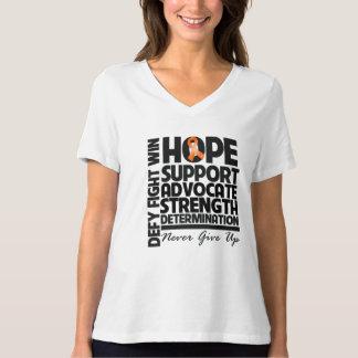 Leukemia Hope Support Advocate T-Shirt