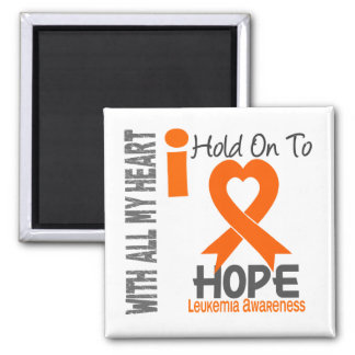 Leukemia I Hold On To Hope Fridge Magnet