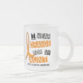 Leukemia I Wear Orange For My Aunt 37 Coffee Mugs