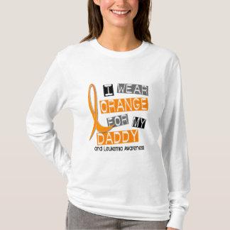 Leukemia I Wear Orange For My Daddy 37 T-Shirt