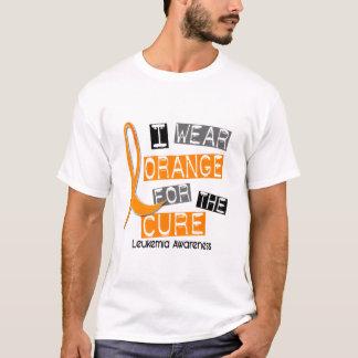 Leukemia I Wear Orange For The Cure 37 T-Shirt