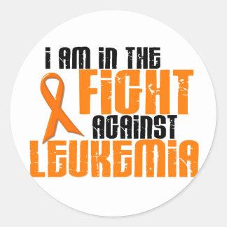 LEUKEMIA In The Fight 1 Classic Round Sticker