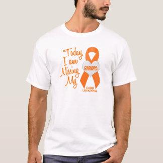 Leukemia Missing My Grandpa 1 T-Shirt