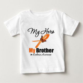 Leukemia Ribbon My HERO My Brother Shirts