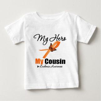 Leukemia Ribbon My HERO My Cousin Baby T-Shirt