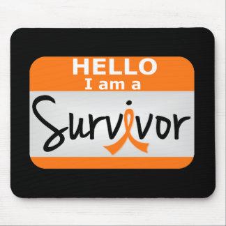 Leukemia Survivor 24 png Mousepads