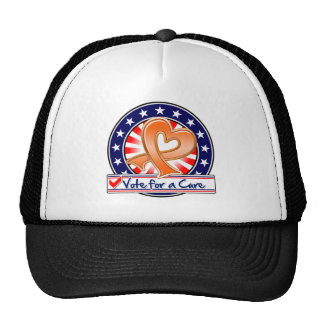 Leukemia Vote For a Cure Hats