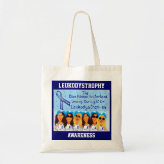 Leukodystrophy Sisterhood Tote Bag