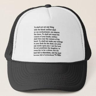 Lev. 19: 26 trucker hat