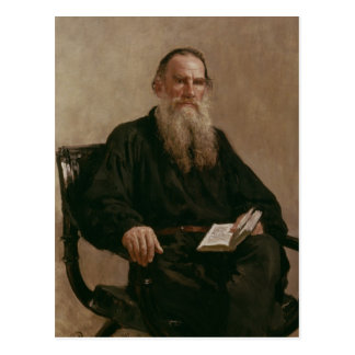 Lev Tolstoy  1887 Postcard