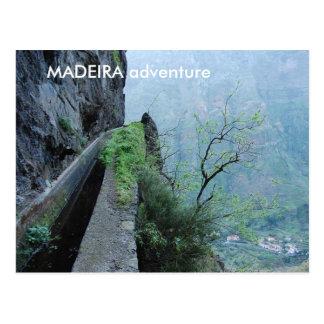 Levada do Norte, MADEIRA adventure Postcard
