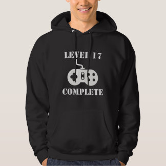 Level 17 Complete 17th Birthday Hoodie