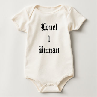 Level 1 Human Romper