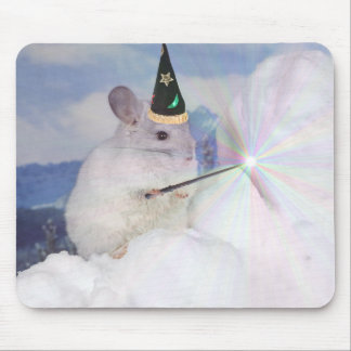 Level 33 Imperial Wizard Chinchilla Mousepad