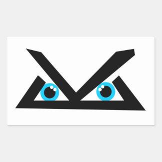 Level Logo Rectangular Sticker