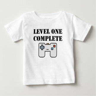 Level One Complete First Birthday Baby T-Shirt