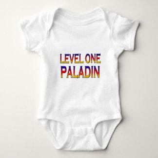 Level one paladin baby bodysuit