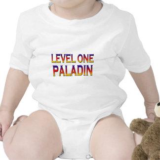 Level one paladin tshirt