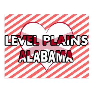 Level Plains, Alabama Post Cards