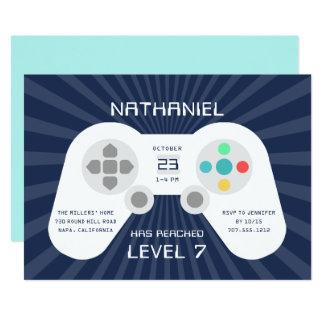 Level Up | Birthday Party Invitation