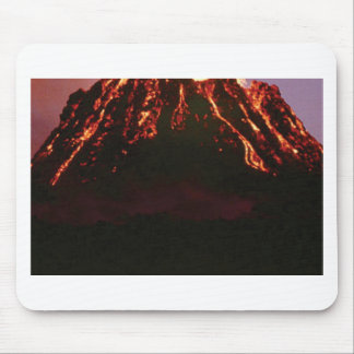 level volcanic cone mouse pad